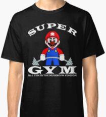 super mario gym Classic T-Shirt