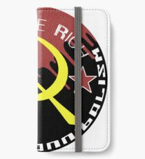 Anarcho-Cannibalism Circle iPhone Wallet/Case/Skin
