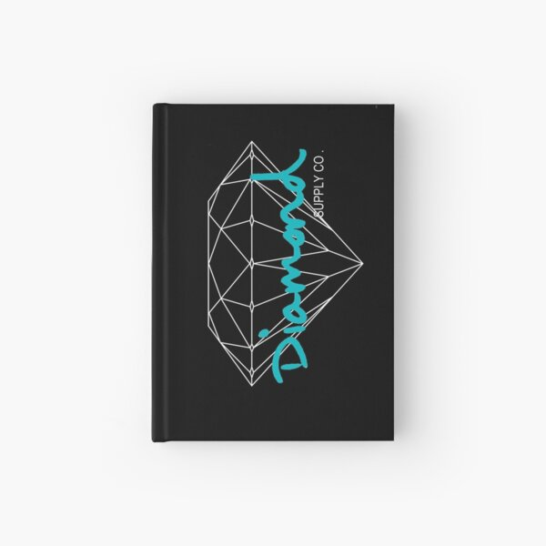 Diamond Supply Co Teal Hardcover Journal