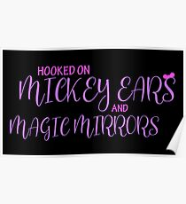 Mickey Ears and Magic Mirrors Poster