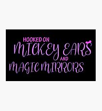 Mickey Ears and Magic Mirrors Photographic Print
