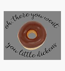 Zootopia, Donut Photographic Print