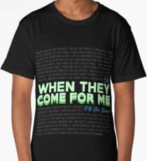 When They Come For Me - Linkin Park Long T-Shirt
