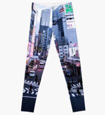 Japan - Shinjuku Rush Hour Leggings