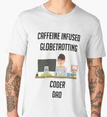 IT programmer dad tshirt geek dad shirt Men's Premium T-Shirt