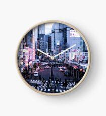Japan - Shinjuku Rush Hour Clock