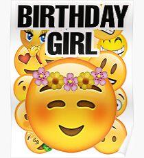 Birthday Emoji Posters Redbubble Jpg 210x230 Happy Art