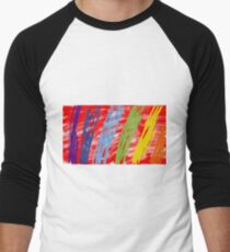 Abstract as (on red) T-Shirt