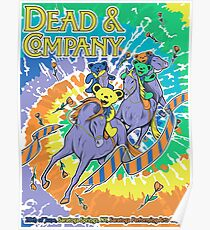 POSTER Dead Company June 20Th 2017, Saratoga Springs Poster