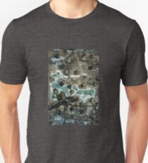 Surfaces,Textures and Patterns (Palm Tree Trunk 1)  Unisex T-Shirt