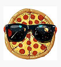 Planet Pizza Photographic Print