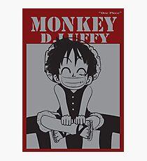 anime-luffy Photographic Print