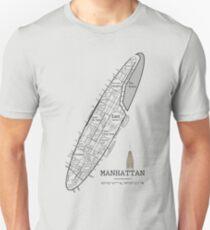 NYC, Manhattan neighborhoods 1 Unisex T-Shirt