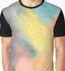 Space Illusion Graphic T-Shirt