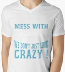 Don't Mess With Rottweiler Dads We Don't Just Look Crazy T-Shirt