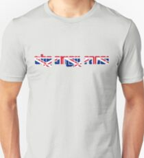 The Small Faces Union Jack Logo. T-Shirt