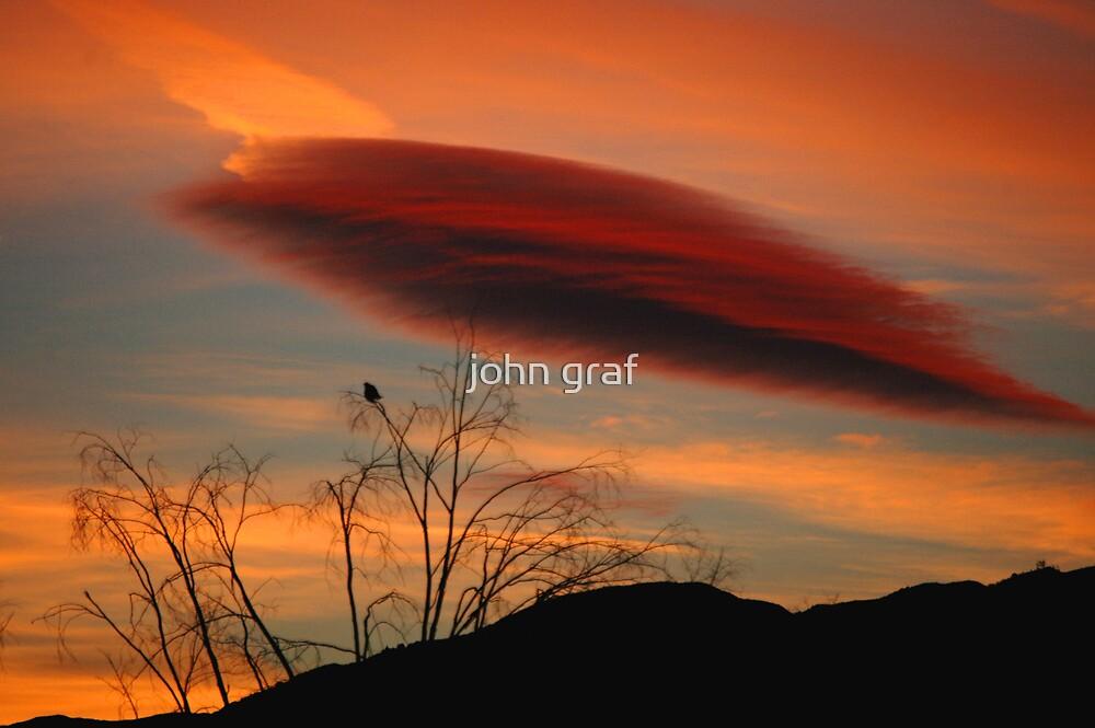 Strange Cloud by john graf