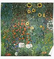 Gustav Klimt - The Sunflower Poster