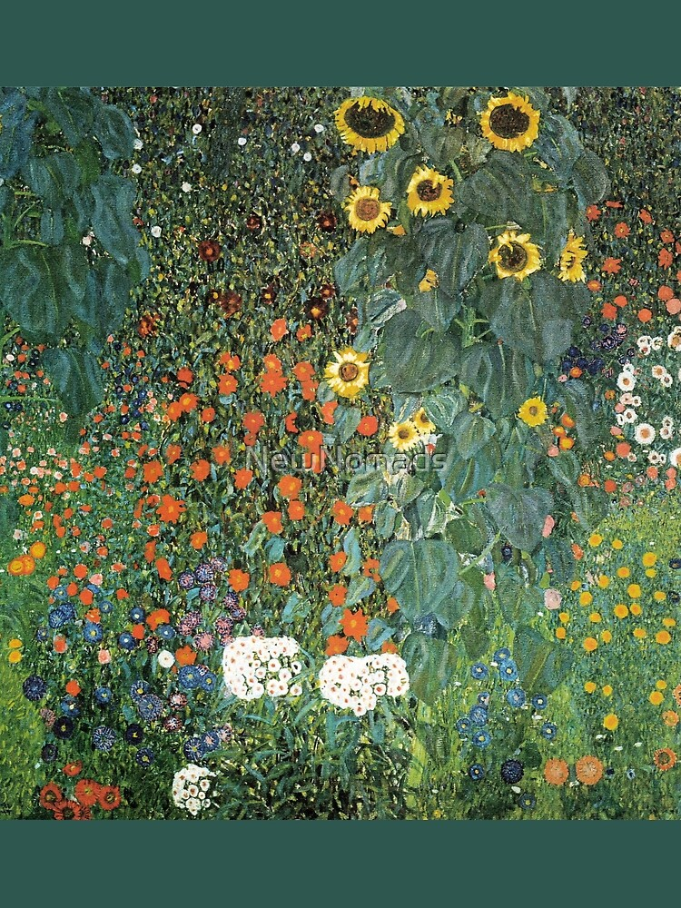 Gustav Klimt - The Sunflower by NewNomads