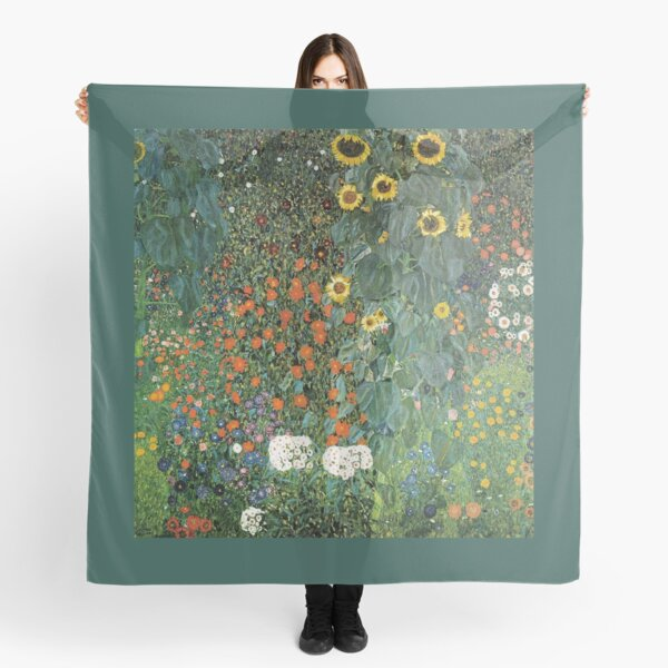 Gustav Klimt - The Sunflower Scarf
