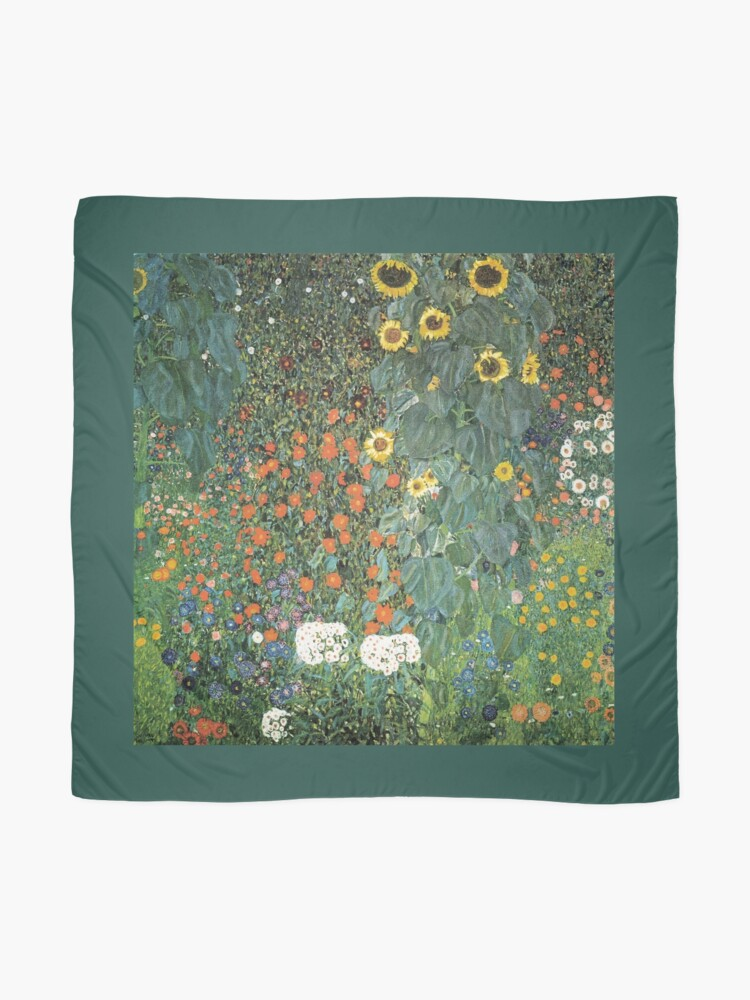 Alternate view of Gustav Klimt - The Sunflower Scarf