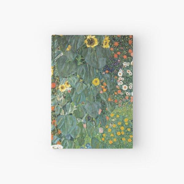 Bauerngarten mit Sonnenblumen Notizbuch