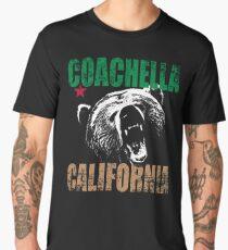 Coachella California Flag Men's Premium T-Shirt