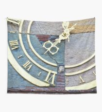 Clock in Tbilisi Wall Tapestry