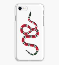 gucci inspired snake (big) iPhone Case/Skin