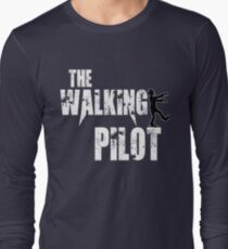 funny Pilot, walking Aircraft Airman, plane Helicopter piloting gift t shirt T-Shirt