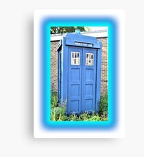 The Real Tardis Canvas Print