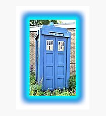 The Real Tardis Photographic Print