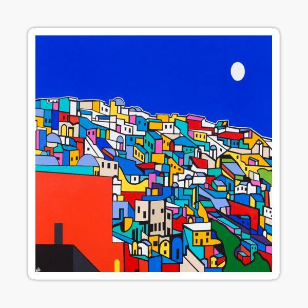 Suggesting Santorini Sticker