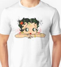 Betty Boop Watercolor Art T-Shirt