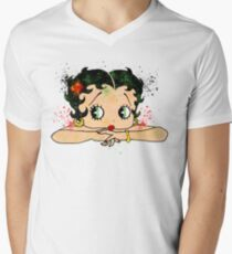 Betty Boop Watercolor Art T-Shirt
