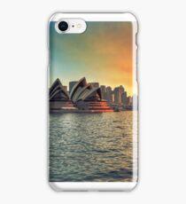 Sydney Opera House Sunset iPhone Case/Skin