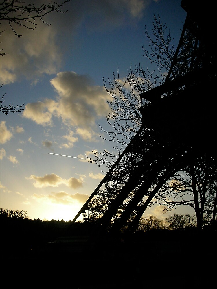 Tour Eiffel at Sunset by debwilson
