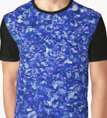Blue leaves - Blue leaves Graphic T-Shirt
