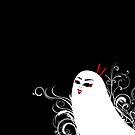 Ghostly Geisha by UberAutomaton