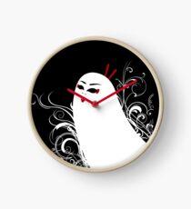 Ghostly Geisha Clock