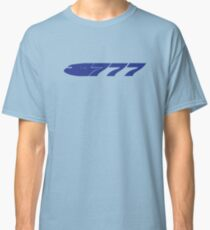 Boeing 777 Blue Classic T-Shirt
