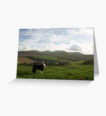 The beauty of Llanfairfechan Greeting Card