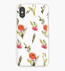 Flower mood iPhone Case/Skin