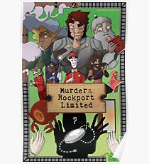 Murder On The Rockport Limited Poster