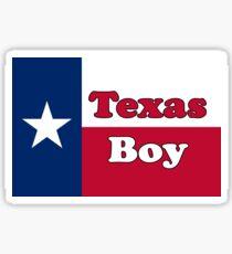 Texan Boy - Texas Flag - Baby Jumpsuit Sticker