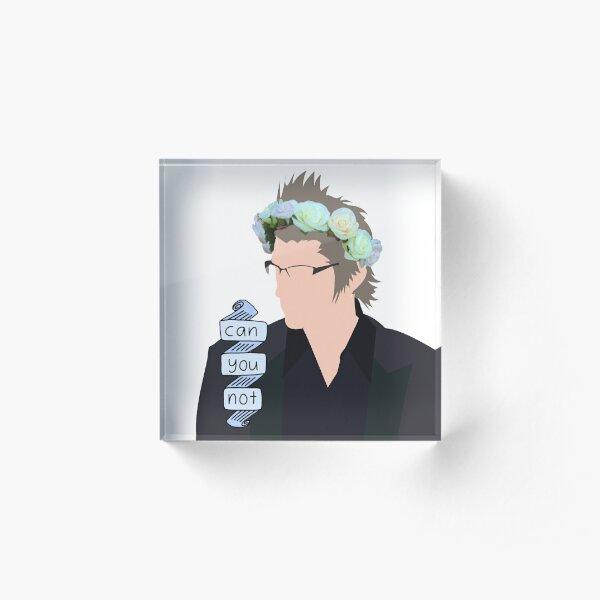 Mama Iggy Acrylic Block
