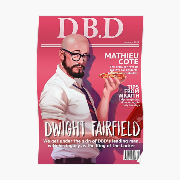 Dead by Daylight Magazine Cover - Dwight Fairfield Poster
