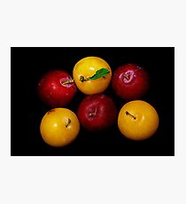 Plums Photographic Print