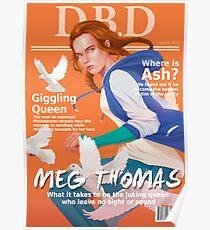 Póster Portada de la revista Dead by Daylight - Meg Thomas
