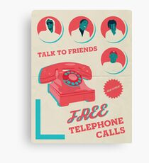 Rocky, Tyler and Carti - Telephone Calls Canvas Print